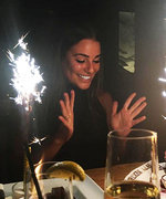 Lea Michele Kicks off 30th Birthday With Blueberry Cheesecake—Get the Recipe Here
