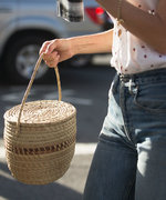 Why You Should Carry Your Summer Straw Tote in the Fall