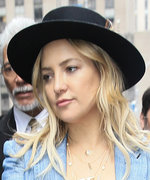 Kate Hudson's Cool Chambray Ensemble Has Us Rethinking the Pantsuit
