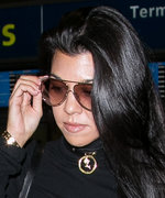 Kourtney Kardashian Proves She's Fashion-Week Ready in Stylish Travel Attire