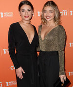Sarah Hyland and Lea Michele Are Adorable BFFs at the No Kid Hungry Dinner