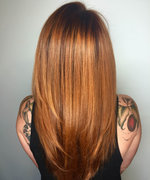 Pumpkin Spice Hair Color Is Apparently a Thing