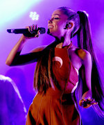"Ariana Grande Channels Her Inner ""Space Princess"" for CBS Concert"