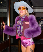Lady Gaga Rocks a Wacky Cowboy Outfit After Appearing on SNL