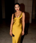 Olivia Culpo's Gold 2016 InStyle Awards Dress Was Inspired by How to Lose a Guy in 10 Days
