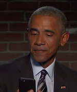 Watch President Barack Obama Read Mean Tweets About Himself (and Address His Dad Jeans)