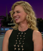 January Jones Wants to Be in a Relationship with Both Eva Mendes and Ryan Gosling