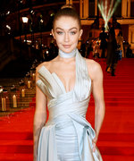 Gigi Hadid Stuns in a Sexy Sculpted Versace Look at The Fashion Awards