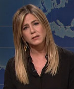 Jennifer Aniston Meets Rachel Green on SNL