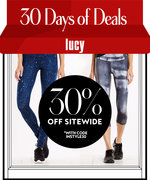30 Days of Deals: 30% Off Items at Lucy Activewear
