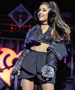 Ariana Grande Is One Sexy Snow Bunny at Jingle Ball
