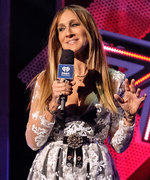 Sarah Jessica Parker Makes a Totally Sheer Dress Look Classy