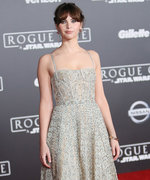 Felicity Jones Absolutely Dazzles at Rogue One Premiere