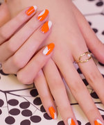 Nail Art Know How: Orange Slice
