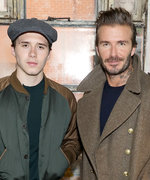 David Beckham Goes Full Embarrassing-Dad Mode for Brooklyn's Video