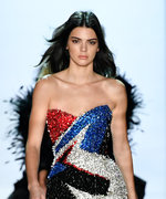 Kendall Jenner Closes the Alexandre Vauthier Show in the Tiniest Dress Ever