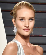 Rosie Huntington-Whiteley Debuts Sexy Maternity Style in Versace