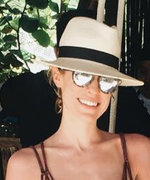 Kristin Cavallari and Her Tiny Burgundy Bikini Were Made for Instagram