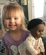 This Toddler Had a Great Response to Questions About Doll's Skin Color