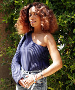 Solange Knowles and Emily Ratajkowski Customized Denim at the Levi's Coachella Brunch