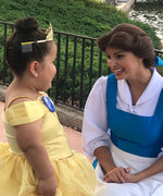 Princess Belle Just Made This Sick Little Girl's Dreams Come True