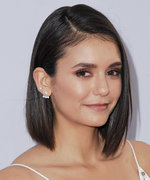Nina Dobrev Stunned in Pretty Pink Bridesmaid Dress at Julianne Hough's Wedding