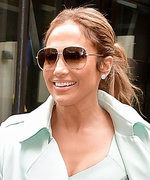 Jennifer Lopez Wows in Mint Green for N.Y.C. Lunch Date with Alex Rodriguez