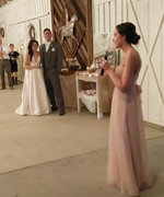 This Rapping Bridesmaid Gives Eminem a Run for His Money