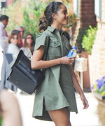 Malia Obama Is a Spring Vision in Green