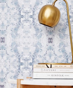 This New Adhesive Wallpaper Collection Takes the Fear Out of DIY Decorating