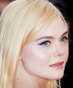 Daily Beauty Buzz: Elle Fanning's Cobalt Blue Cat-Eye
