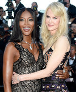 Sparks Flew When Nicole Kidman and Naomi Campbell Bumped into Each Other at Cannes