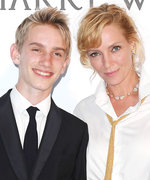 Uma Thurman Brought Her Look-Alike Teenage Son as Her Cannes Date