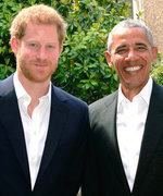 #Goals: Prince Harry and Barack Obama Hung Out Today