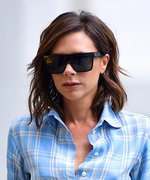 Victoria Beckham Test-Drives Two Looks From Her Resort 2018 Collection in N.Y.C.