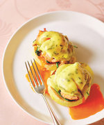 This Lobster Benedict Recipe Will Remind Dad Why You're His Favorite