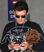 16 Hot Guys with Tiny Dogs