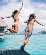 How Swimwear Guru Sisters Pack for a Trip to Tahiti
