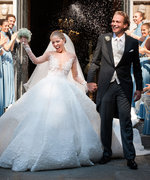The Swarovski Heiress's Wedding Dress Was Blinged Out With Half A Million Crystals