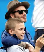 David Beckham's 14-Year-Old Son Romeo Is Actually His Mini-Me