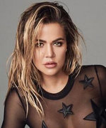 Khloé Kardashian Just Can't Stop with the Sheer Bodysuits