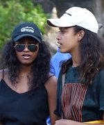 Malia and Sasha Obama Wear Bright Sarongs While Visiting a Temple in Bali