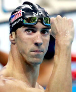 Michael Phelps Beats a Reef Shark in a Swim Race, But Loses Against a Great White Shark
