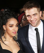 "Robert Pattinson Says He and FKA Twigs Are ""Kind of"" Engaged"