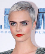 Daily Beauty Buzz: Cara Delevingne's Color Blocked Makeup