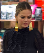 Chrissy Teigen Wore an Ultra-Glam Ensemble to Go Late-Night Grocery Shopping