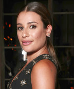 Daily Beauty Buzz: Lea Michele's Low Ponytail