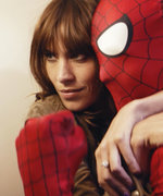 Alexa Chung and Spider-Man Are Star-Crossed Lovers in the New AG Campaign