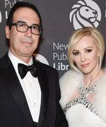 Wife of Treasury Secretary Sparks Backlash for Bragging