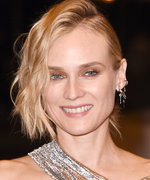 Daily Beauty Buzz: Diane Kruger's Side-Parted Pony